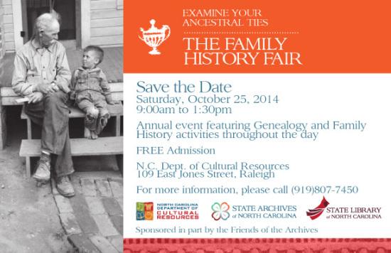 2014 Family History Fair